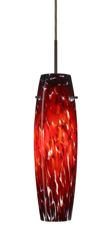 Besa Lighting 1JT-489741-LED Suzi 1 Light LED Cord-Hung Pendant with