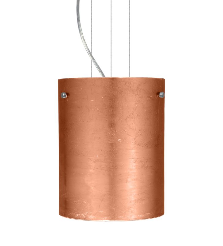Besa Lighting 1KG-4006CF Tamburo 1 Light Cable-Hung Pendant with Sale $423.00 ITEM: bci780267 ID#:1KG-4006CF-SN UPC: 767893554248 :