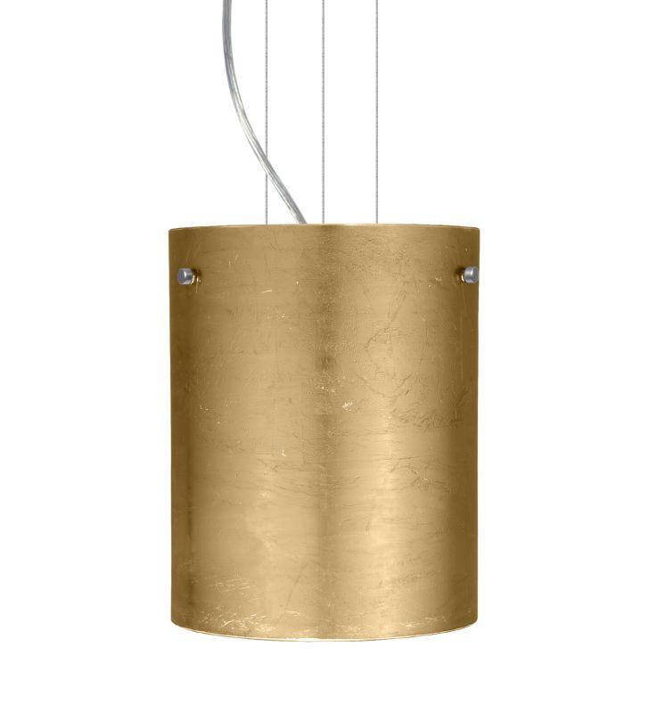 Besa Lighting 1KG-4006GF-LED Tamburo 1 Light LED Cable-Hung Pendant Sale $495.00 ITEM: bci2390600 ID#:1KG-4006GF-LED-SN UPC: 767893865245 :