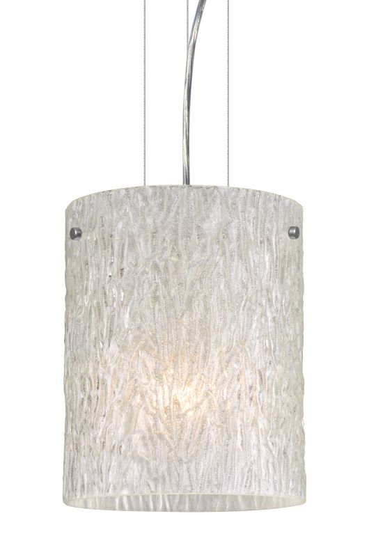 Besa Lighting 1KG-4006GL-LED Tamburo 1 Light LED Mini Pendant with