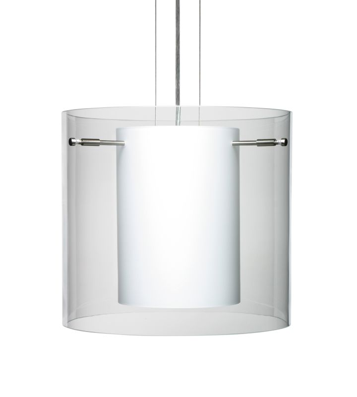 Besa Lighting 1KG-C18407 Pahu 1 Light Cable-Hung Pendant with Clear / Sale $544.50 ITEM: bci780363 ID#:1KG-C18407-SN UPC: 767893548797 :
