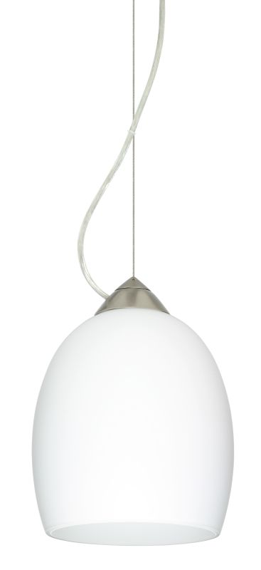 Besa Lighting 1KX-169707 Lucia 1 Light Cable-Hung Pendant with Opal Sale $265.50 ITEM: bci2391142 ID#:1KX-169707-SN UPC: 767893832131 :