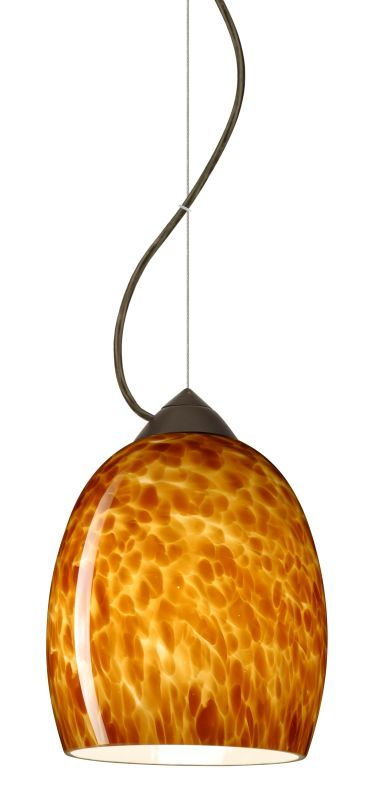 Besa Lighting 1KX-169718-LED Lucia 1 Light LED Cable-Hung Pendant with
