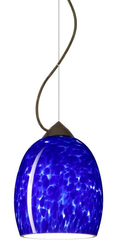 Besa Lighting 1KX-169786-LED Lucia 1 Light LED Cable-Hung Pendant with