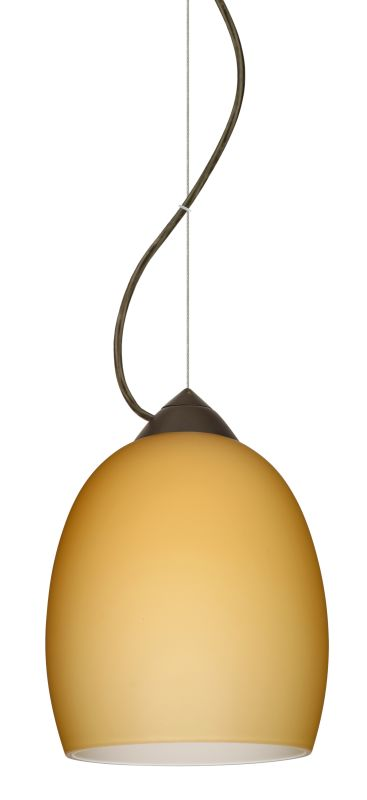 Besa Lighting 1KX-1697VM-LED Lucia 1 Light LED Cable-Hung Pendant with