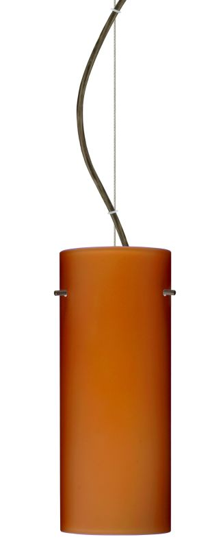 Besa Lighting 1KX-412380 Stilo 1 Light Cable-Hung Pendant with Amber Sale $261.00 ITEM: bci2391237 ID#:1KX-412380-BR UPC: 767893831424 :