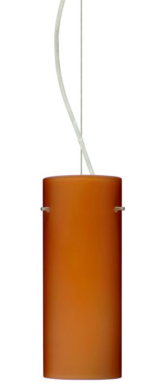Besa Lighting 1KX-412380 Stilo 1 Light Cable-Hung Pendant with Amber Sale $261.00 ITEM: bci2391238 ID#:1KX-412380-SN UPC: 767893831431 :