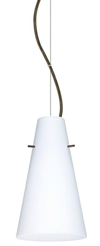 Besa Lighting 1KX-412407-LED Cierro 1 Light LED Cable-Hung Pendant