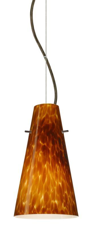 Besa Lighting 1KX-412418-LED Cierro 1 Light LED Cable-Hung Pendant