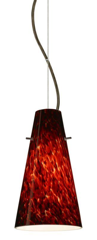 Besa Lighting 1KX-412441-LED Cierro 1 Light LED Cable-Hung Pendant