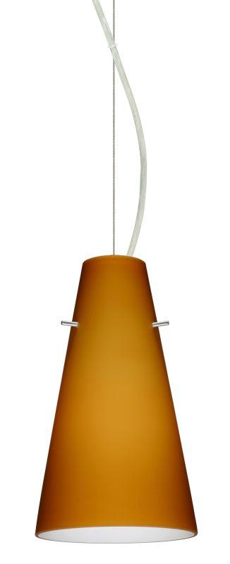 Besa Lighting 1KX-412480-LED Cierro 1 Light LED Cable-Hung Pendant Sale $319.50 ITEM: bci2391280 ID#:1KX-412480-LED-SN UPC: 767893869489 :
