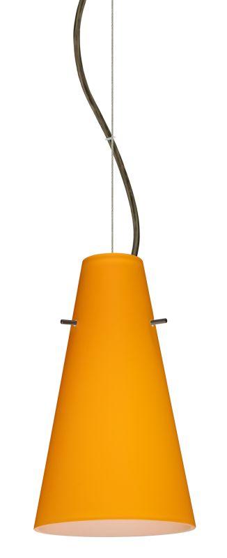 Besa Lighting 1KX-4124AM-LED Cierro 1 Light LED Cable-Hung Pendant