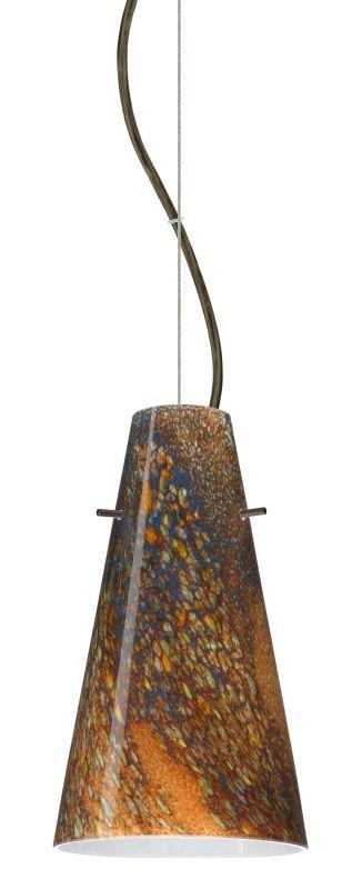 Besa Lighting 1KX-4124CE-LED Cierro 1 Light LED Cable-Hung Pendant