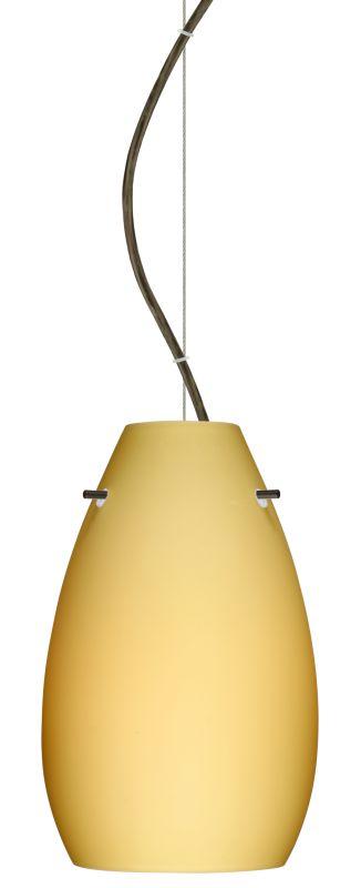 Besa Lighting 1KX-4126VM-LED Pera 1 Light LED Cable-Hung Pendant with