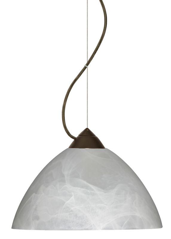 Besa Lighting 1KX-420152-LED Tessa 1 Light LED Cable-Hung Pendant with Sale $315.00 ITEM: bci2391461 ID#:1KX-420152-LED-BR UPC: 767893870492 :