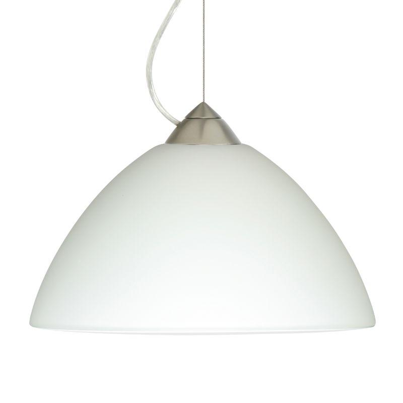 Besa Lighting 1KX-420207-LED Porto 1 Light LED Cable-Hung Pendant with