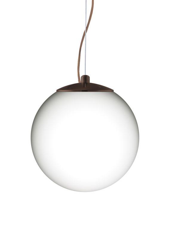 Besa Lighting 1KX-432807 Callisto 1 Light Cable-Hung Pendant with Opal