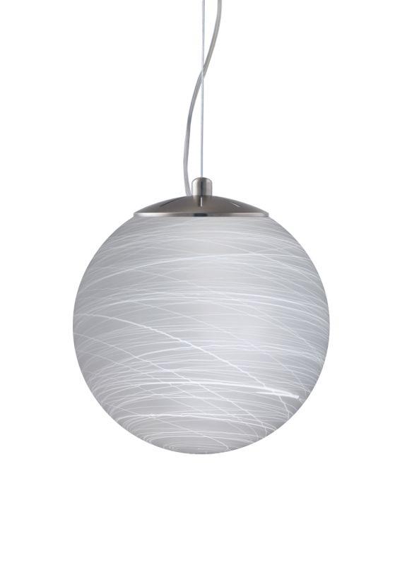 Besa Lighting 1KX-432860-LED Callisto 1 Light LED Cable-Hung Pendant