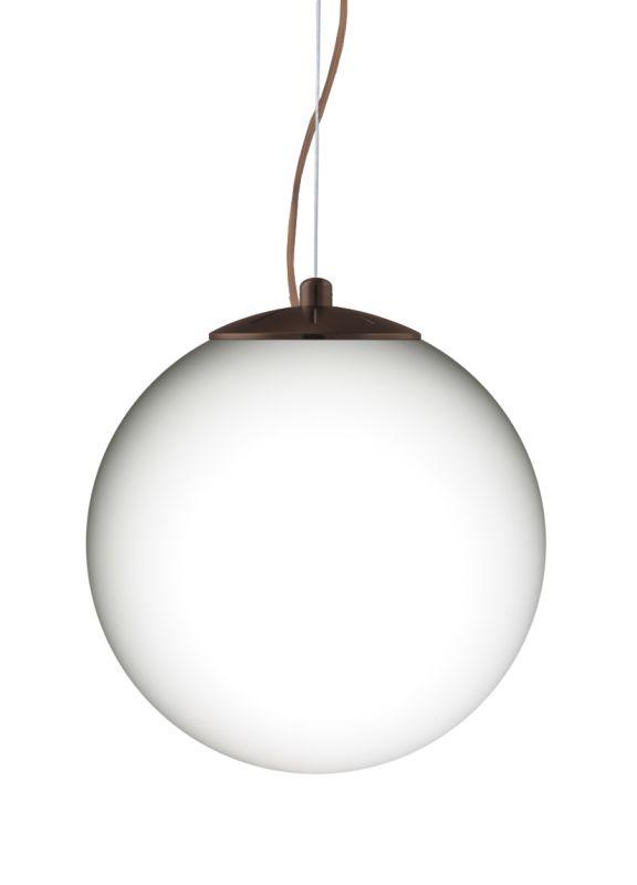 Besa Lighting 1KX-432907 Callisto 1 Light Cable-Hung Pendant with Opal