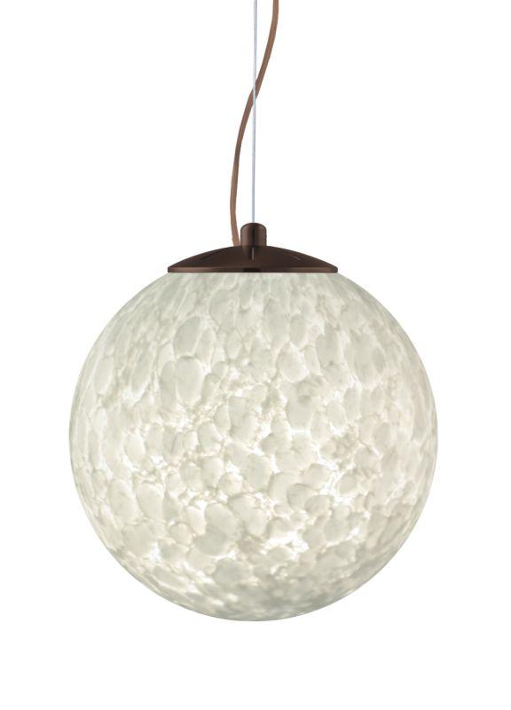 Besa Lighting 1KX-432919-LED Callisto 1 Light LED Cable-Hung Pendant