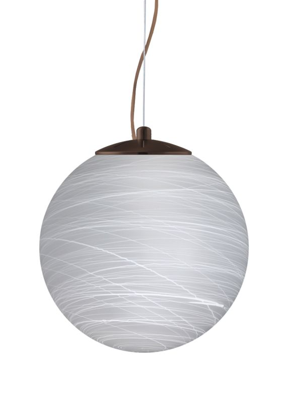 Besa Lighting 1KX-432960-LED Callisto 1 Light LED Cable-Hung Pendant Sale $414.00 ITEM: bci2391583 ID#:1KX-432960-LED-BR UPC: 767893871253 :