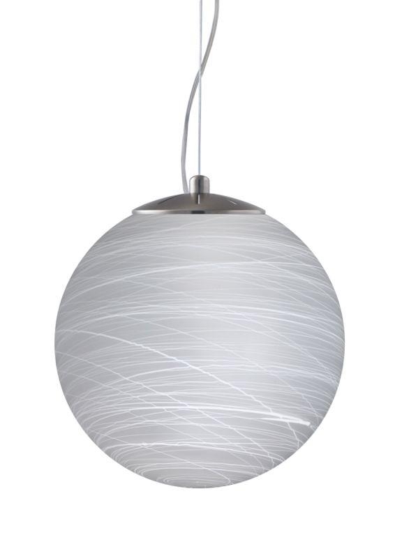 Besa Lighting 1KX-432960-LED Callisto 1 Light LED Cable-Hung Pendant