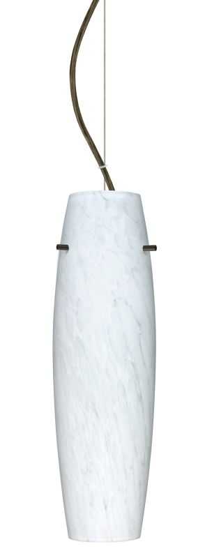 Besa Lighting 1KX-489719-LED Suzi 1 Light LED Cable-Hung Pendant with
