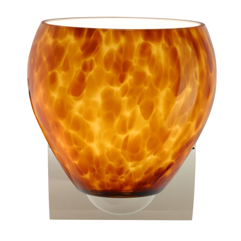 Besa Lighting 1WZ-412218 Bolla 1 Light Bathroom Sconce with Amber Sale $157.50 ITEM: bci2382317 ID#:1WZ-412218-CR UPC: 767893937003 :
