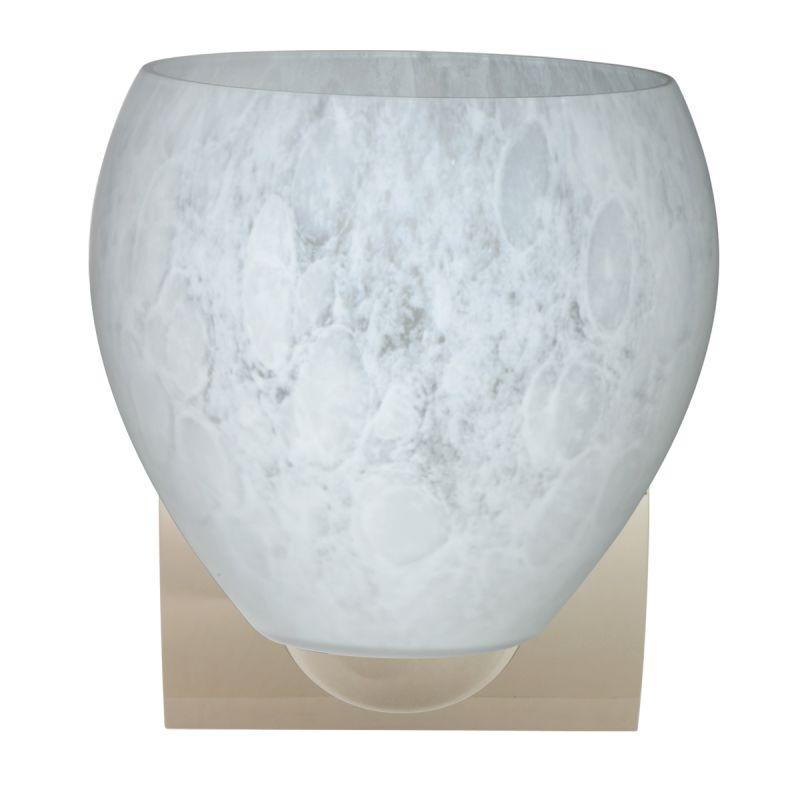 Besa Lighting 1WZ-412219-LED Bolla 1 Light LED Bathroom Sconce with