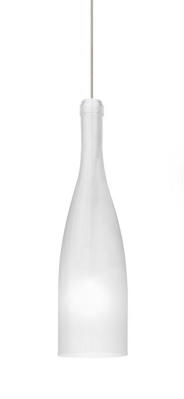 Besa Lighting 1XT-1684WF Botella 1 Light Mini Pendant with White Frost Sale $247.50 ITEM: bci2271965 ID#:1XT-1684WF-SN UPC: 767893964511 :