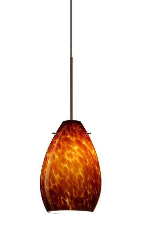 Besa Lighting 1XT-171318-LED Pera 1 Light LED Cord-Hung Mini Pendant