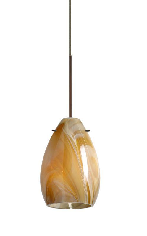 Besa Lighting 1XT-1713HN-LED Pera 1 Light LED Cord-Hung Mini Pendant