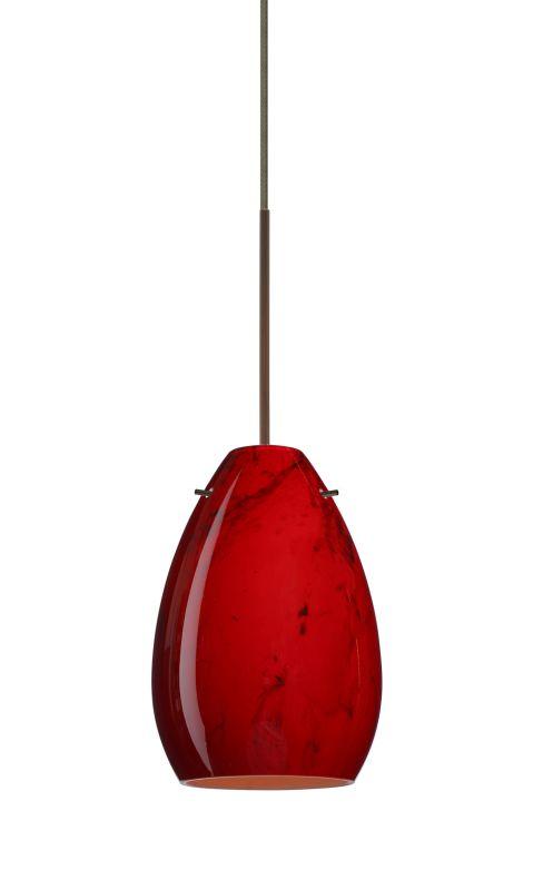 Besa Lighting 1XT-1713MA Pera 1 Light Halogen Cord-Hung Mini Pendant