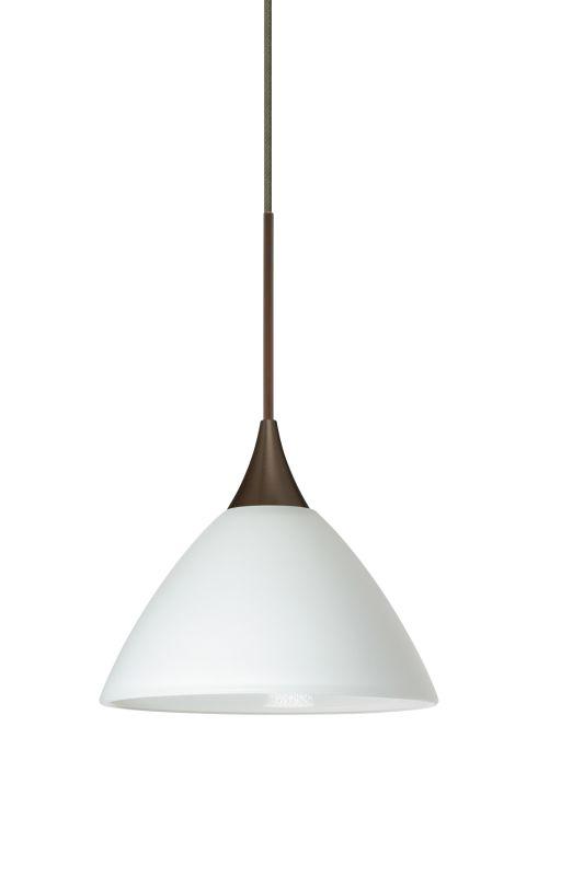 Besa Lighting 1XT-174307-LED Domi 1 Light LED Cord-Hung Mini Pendant