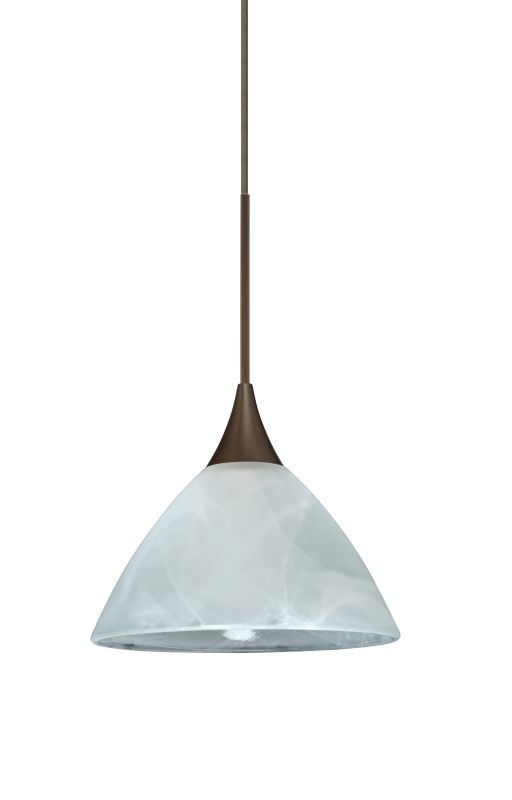 Besa Lighting 1XT-174352-LED Domi 1 Light LED Cord-Hung Mini Pendant