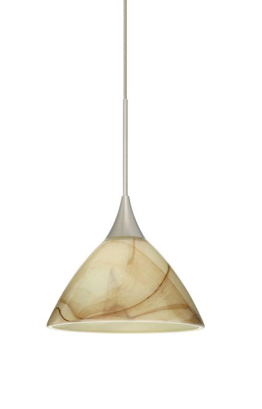 Besa Lighting 1XT-174383-LED Domi 1 Light LED Cord-Hung Mini Pendant