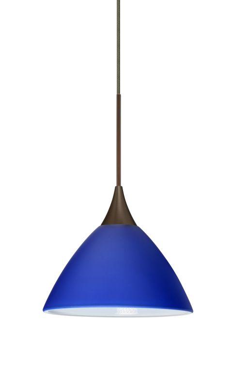 Besa Lighting 1XT-174387-LED Domi 1 Light LED Cord-Hung Mini Pendant