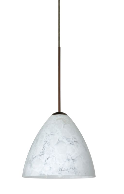 Besa Lighting 1XT-177919 Mia 1 Light Halogen Cord-Hung Mini Pendant
