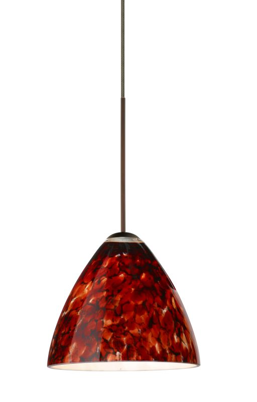 Besa Lighting 1XT-177941-LED Mia 1 Light LED Cord-Hung Mini Pendant Sale $315.00 ITEM: bci2394423 ID#:1XT-177941-LED-BR UPC: 767893359645 :