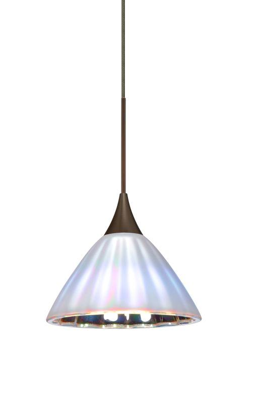 Besa Lighting 1XT-184395-LED Domi 1 Light LED Cord-Hung Mini Pendant