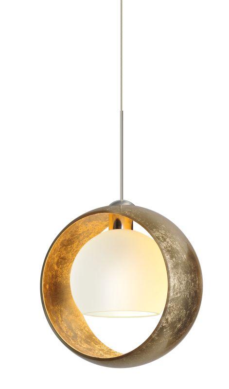 Besa Lighting 1XT-4293GG Pogo 1 Light Mini Pendant with Gold and Inner