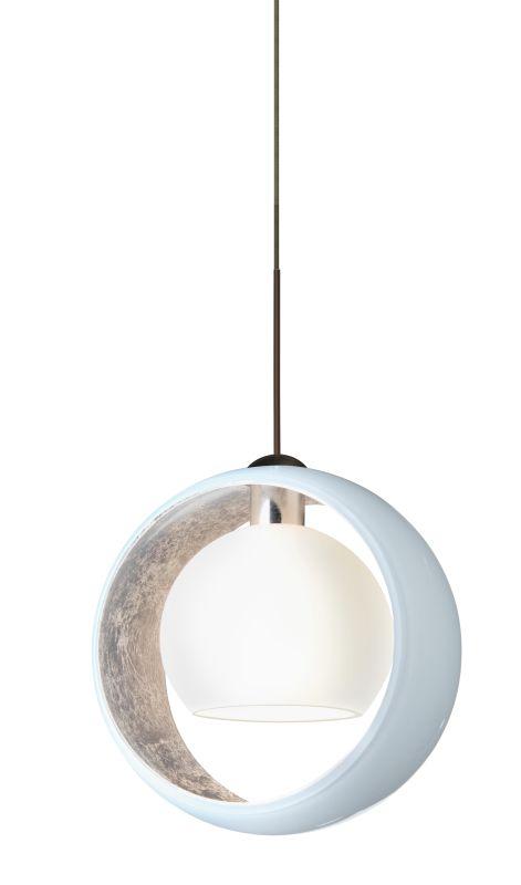 Besa Lighting 1XT-4293SF-LED Pogo 1 Light LED Mini Pendant with White