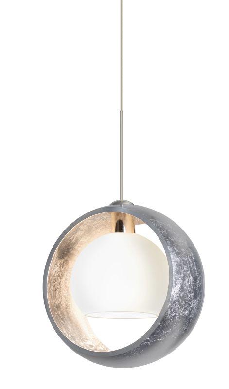 Besa Lighting 1XT-4293SS-LED Pogo 1 Light LED Mini Pendant with Silver