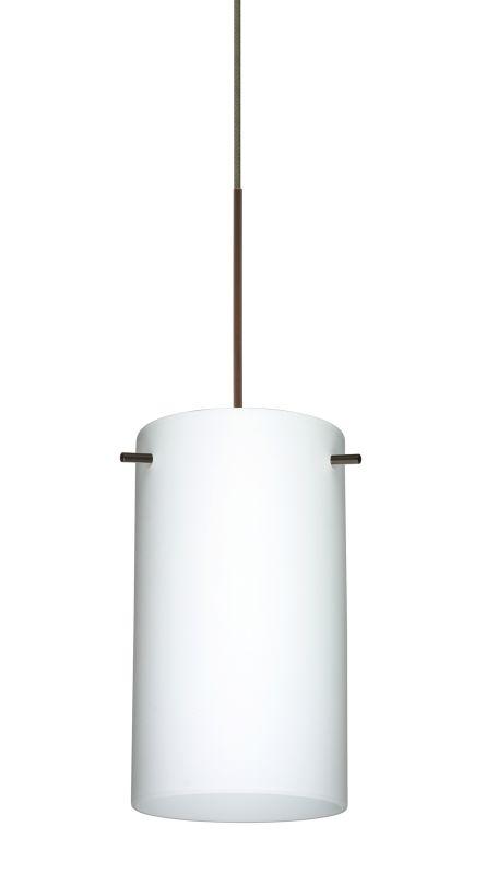 Besa Lighting 1XT-440407 Stilo 1 Light Halogen Cord-Hung Mini Pendant