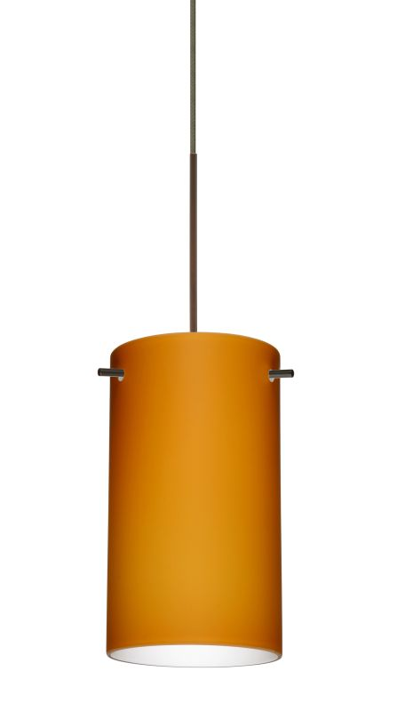 Besa Lighting 1XT-440480-LED Stilo 1 Light LED Cord-Hung Mini Pendant