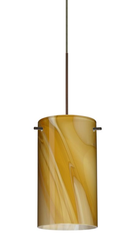 Besa Lighting 1XT-4404HN-LED Stilo 1 Light LED Cord-Hung Mini Pendant