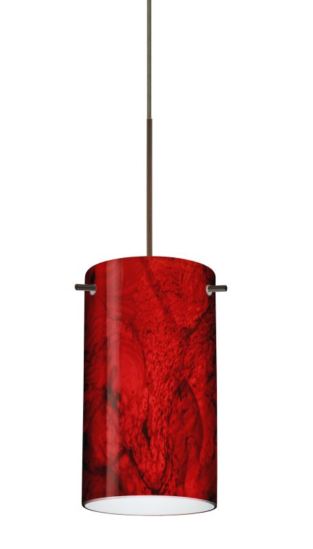 Besa Lighting 1XT-4404MA-LED Stilo 1 Light LED Cord-Hung Mini Pendant