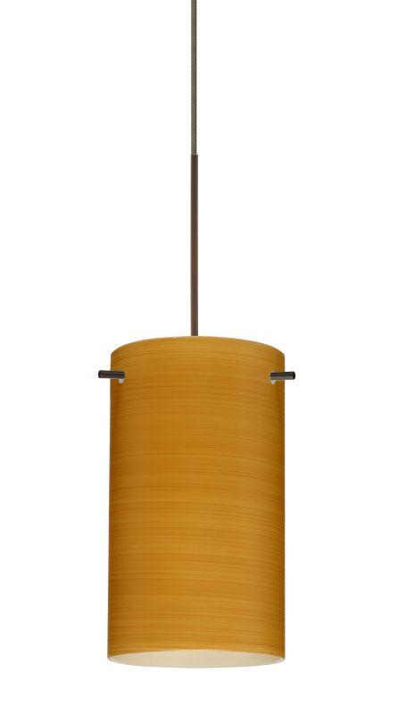 Besa Lighting 1XT-4404OK Stilo 1 Light Halogen Cord-Hung Mini Pendant