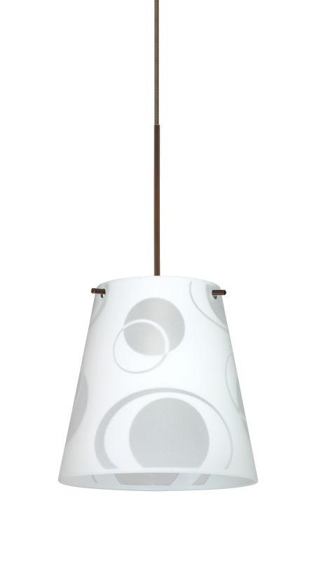 Besa Lighting 1XT-4477CS-LED Amelia 1 Light LED Cord-Hung Mini Pendant