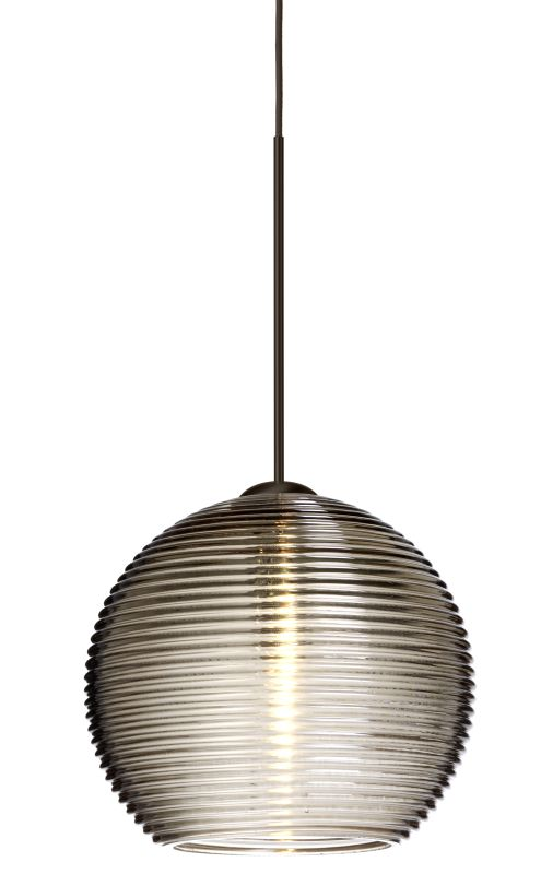 Besa Lighting 1XT-461502-LED Kristall 1 Light LED Mini Pendant with